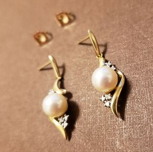 NEW - Earrings 14K